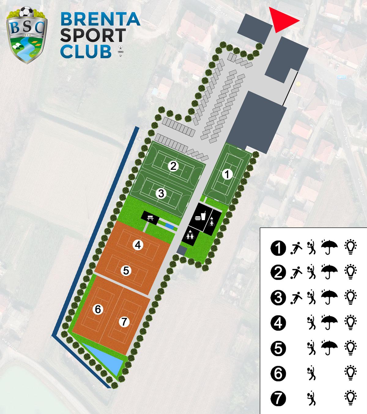 Planimetria-Brenta-Sport-Club