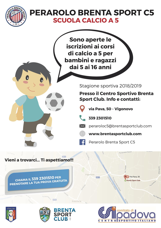 Scuola Calcio a 5 Perarolo Brenta Sport