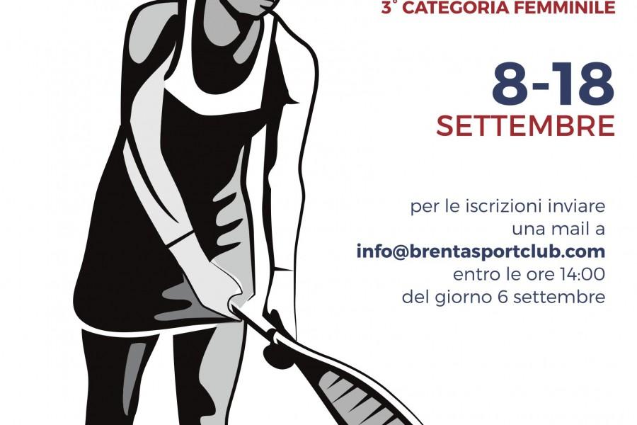 Torneo 3° Categoria Femminile