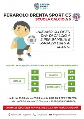 Open Day Scuola Calcio a 5